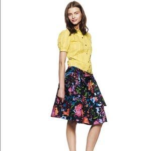 Thakoon for Target Printed Floral Skirt